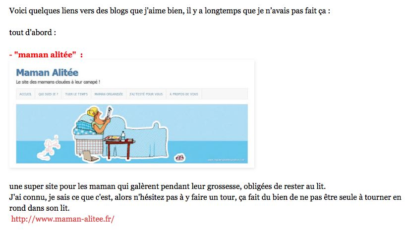 Blog de Mademoiselle Caroline