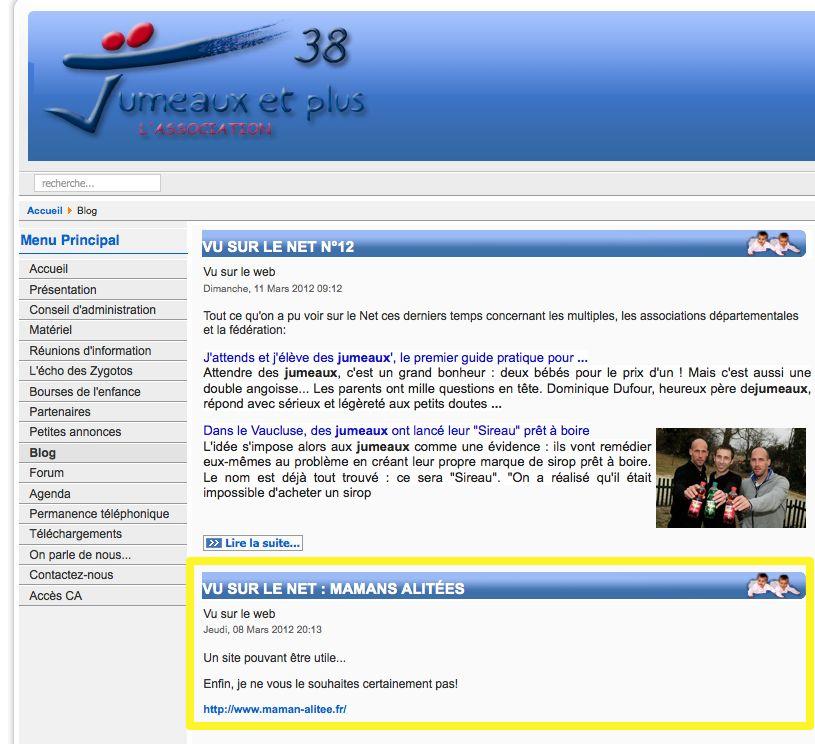 Association Jumeaux et Plus 38