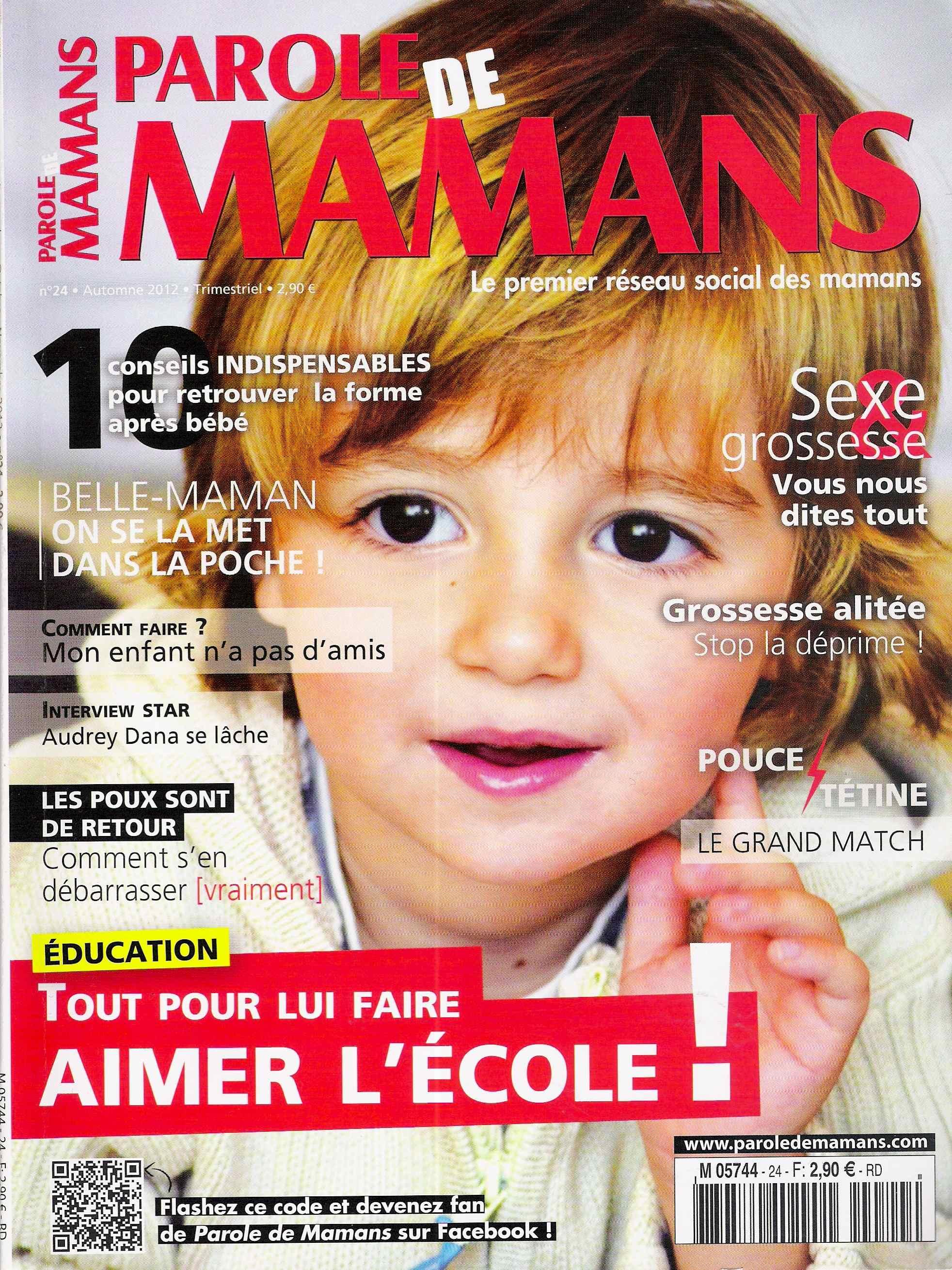 Magazine Parole de mamans