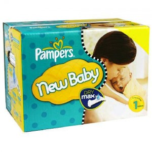 Vente privée couches Pampers